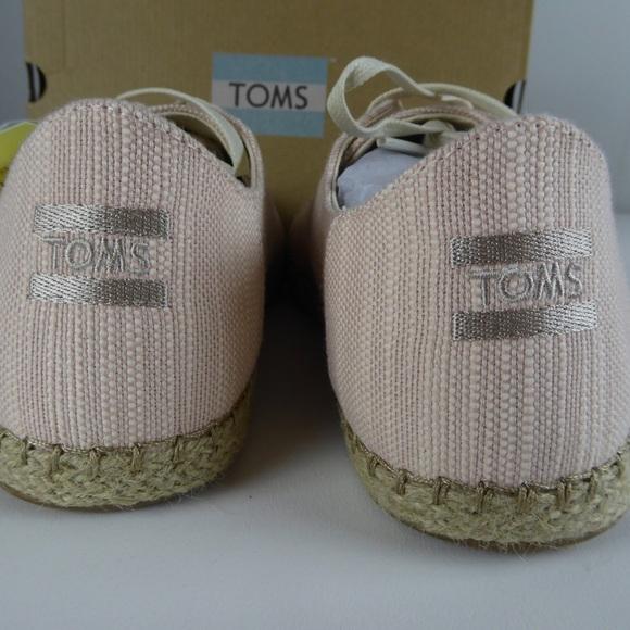 1615ff845 Toms Shoes | Lena Bloom Slubby Cotton Espadrille Nib | Poshmark